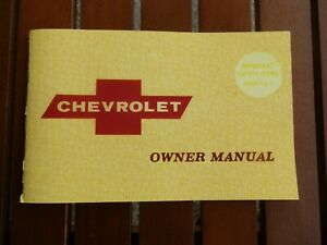 CHEVROLET 1968 IMPALA GMH OWNERS MANUAL.