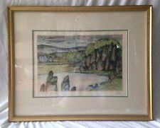 "Canadian Brian Kelley hand signed etching from his ""Northern Textures"" series"