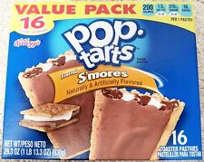 NEW Pop Tarts Toaster Pastries Frosted S'mores 16 Count Free Worldwide Shipping