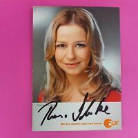☆☆☆ Theresa Scholze - Original signierte Autogrammkarte, handsigniert, TOP ☆☆☆
