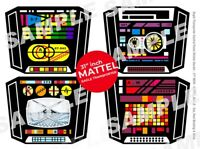 "MATTEL - SPACE 1999 EAGLE - CONTROL PANEL - STICKER DECALS - 31"" MATTEL MODELS"