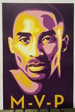 "KOBE BRYANT ""MVP"" Poster Fine Art Lithograph Archival Limited Edition + COA"