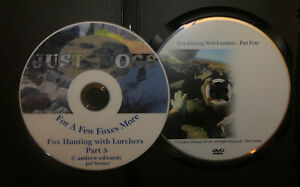 Fox Hunting with Lurchers dvd part four - special now with xtra dvd
