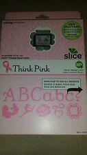 NEW NIP Making Memories Slice Ms Design Card Think Pink Ribbon Breast Cancer