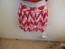 NWT Takara Shorts in Various Shades of Reds & Pinks, Very Lightweight Material M