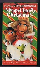 Muppet Family Christmas (1998) VINTAGE VHS Cassette Sesame Street Crossover!