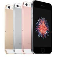 Apple iPhone SE 16GB 32GB 64GB 128GB 4G LTE AT&T H2O Smartphone