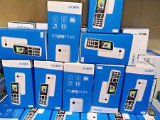 ALCATEL 1066g semplice telefono GSM QuadBand Radio Foto torcia NUOVO 1066 nero