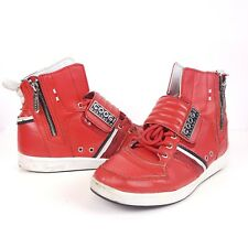 Coogi Athletic Shoes Red Sneakers Mens 7.5