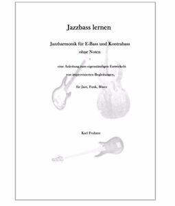 Jazzharmonik für E-Bass und Kontrabass  (Jazzbass , Precision Bass Uprightbass