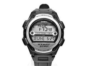 New Casio Illuminator Sport Watch Digital Chrono World Time Lap Counter 100M WR