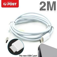 USB-C To USB-C 2M Charging Charger Adapter Cable For Apple MacBook Pro Air