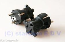 Elettricità Power rete-adattatore Protezione Contatto Spina > Presa USA VIAGGIO SPINA VIAGGIO