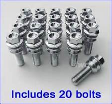 20 X VW T5 T6 TRANSPORTER EXTENDED  RUST RESISTANT REPLACEMENT WHEEL BOLTS 58mm