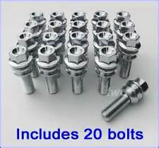 20 New Porsche Alloy Wheel Bolt To Suit OE Wheel,48mm Thread 911 986 987 996 997