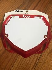 SUPERCROSS,CHASE,SE,GT,YESS,BOX BMX OUTBURST INDUSTRIES Side Number Plate