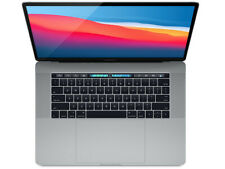 """2017 Apple MacBook Pro Touch Bar 15"""" Gray 