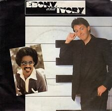disco 45 GIRI Paul McCARTNEY Steve WONDER EBONY AND IVORY