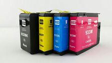 4x For HP 932XL 933XL Ink Cartridge Set Officejet 6100 6700 7610 7110 6600