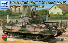 Bronco 1/35 35144 Infantry Tank MK.III Valentine Mk.IX