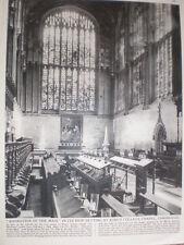 Photo article Rubens Adoration of the Magi King's College Chapel Cambridge 1964