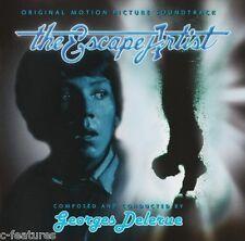 THE ESCAPE ARTIST Georges Delerue PERCEPTO Score SOUNDTRACK Ltd/1500 CD New OOP!