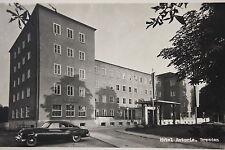 14645 tolle Foto AK DRESDEN Hotel Astoria Ernst Thälmann Pl. 1 mit Auto um 1950