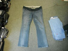 """Mamas & Pappas Maternity Jeans Size 18 Leg 32"""" Faded Dark Blue Ladies Jeans"""