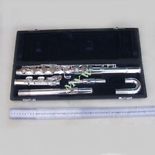 advanced alto flute outfit G key 2 mouthpieces silver plated new #1568