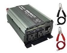 VertaMax PURE SINE WAVE 500 Watt (1000W Surge) 12V Power Inverter DC to AC Power