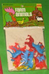 VINTAGE MPC FARM ANIMAL HEADER CARD.....NEVER OPENED.......