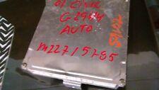 2001 HONDA CIVIC  PART NUMBER 37820-PMP-L62