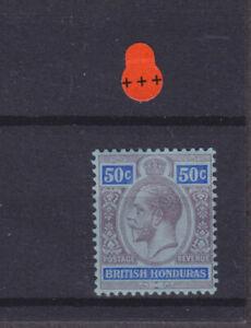 British Honduras KGV SG 107 Cat £35.00 Mounted Mint