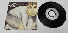 """Soft Cell Where The Heart Is 7"""" Single Silver Label A4 B2 Pressing - VVG"""