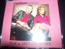 Madison Avenue – Don't Call Me Baby EU Remixes CD Single – Like New