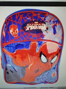 Spiderman Large Arch Backpack With Adjustable Padded Shoulder Straps  NEW