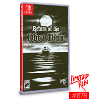 Return of The Obra Dinn Nintendo Switch Limited Run Games #078 LRG New Sealed