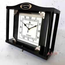 Vintage Wooden Wall & Table Top Clock Collectible Home Decorative