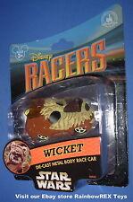 Disney Parks Star Wars Wicket Warrick Ewok Racer 1/64 Die Cast Car Mint in Pack
