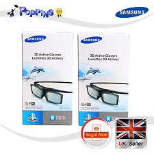 2 X New Samsung 3D TV Glasses SSG-5150GB For All D, E, EH, ES, F , H Series
