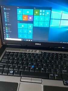 Dell D830 Laptop 4GB Ram 120GB SSD and 500GB SATA Win 10