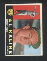 1960 Topps #50 Al Kaline EXMT/EXMT+ Tigers 123015