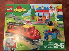 Lego DUPLO 10874 Steam Train Remote-Control, Action Bricks, Lights & Sound - NEW