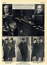 Das erste Präsidium des neuen Reichstags Dr. Spahn Dr. Paasche Graf  Posa...1912