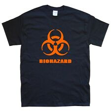 BIOHAZARD new T-SHIRT sizes S M L XL XXL colours black, orange