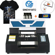 DTG Printer Direct To Garment T-Shirt Textile Personal DIY A4 Flatbed Printer