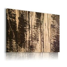 ABSTRACT TEXTURE WOOD PATTERN DESKS CANVAS WALL ART PICTURE LARGE WS64 X MATAGA