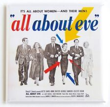 All About Eve Fridge Magnet (2 x 2 inches) movie poster
