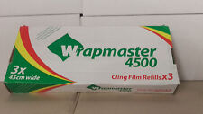 Wrapmaster 4500 Cling film refills 45cm wide