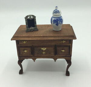 Dolls House. Sideboard With Ornaments